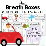 One Breath Boxes - R-controlled Vowels (EDITABLE)