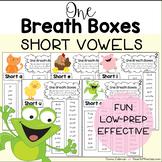 One Breath Boxes - Short Vowels Set