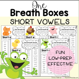 One Breath Boxes - Short Vowels (EDITABLE)