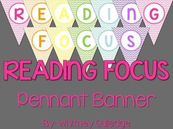 Reading Focus Pennant Banner