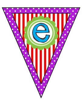 """""""Reading Focus Wall"""" Banner or Bunting"""