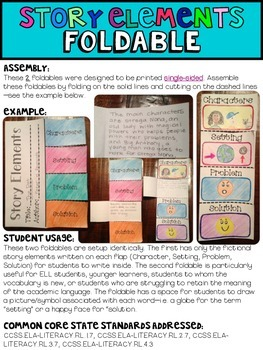 Reading Foldables Pack