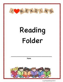 Reading Folder Cover