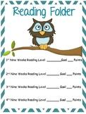 Reading Folder Cover Owl
