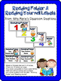 Reading Folder Labels (Editable)
