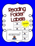 Reading Folder Labels {Editable}