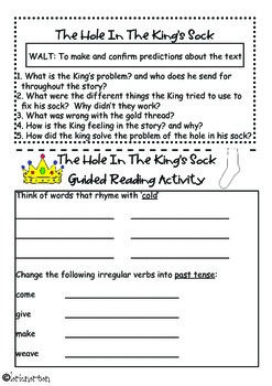 Orange Level 15 and 16 follow up reading activities