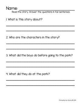 Reading For: Comprehension (Christmas Edition)