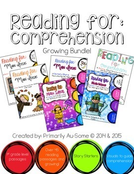 Reading For Comprehension: Growing Bundle!