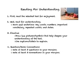 Reading For Understanding: Non-fiction Text