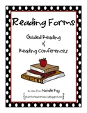 Reading Forms for Guided Reading and Reading Conferences - Freebie