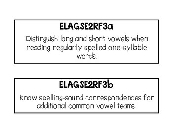 Reading Foundation- Second Grade Georgia Standards of Excellence