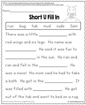 Basic Kindergarten Skills - Free Printable Worksheets - Paging ...
