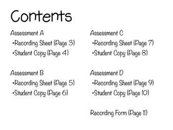 Phonics & Decoding Quarterly Assessments RF 2.3