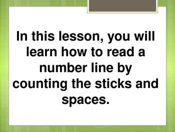 Reading Fractions on a Number Line 3.NF.2