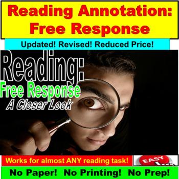Reading : Free Response PowerPoint