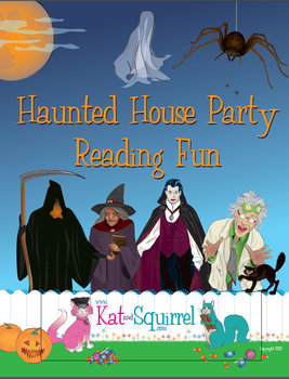 Reading Fun - Halloween Haunted House Party Companion or Stand Alone Lesson