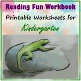 Reading Fun Workbook for Kindergarten
