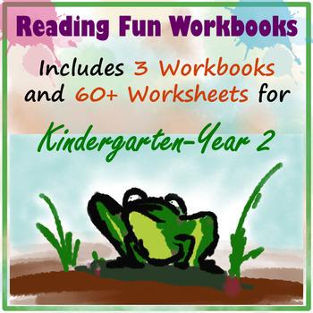 Reading Fun Workbooks for K-2