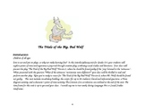 Reading Fun from The True Story of the Three Little Pigs -
