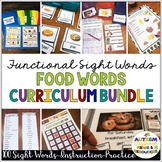 Reading Functional Sight Words Curriculum Bundle for Speci