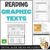 Reading GRAPHIC TEXTS | Two Interactive Lessons with Worksheets & Activities