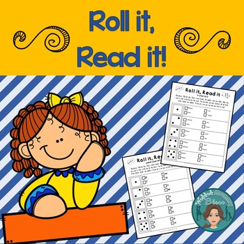 Reading Game - Great for Reading Centers and students at d