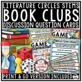 Reading Response Stems & Reading Game- Book Club Questions & Literature Circles