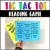 Reading Game for Fluency, Tic Tac Toe