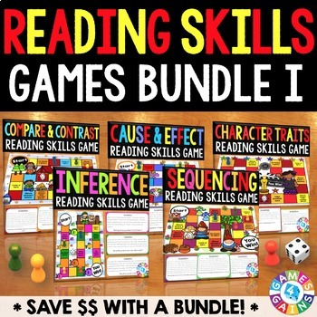 Reading Games for Reading Centers (Inference, Sequence, Ca