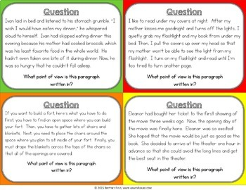 Reading Games for Reading Centers (Point of View, Author's Purpose, & More!)
