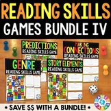 Reading Games for Reading Centers (Genre, Story Elements, Predictions, & More!)