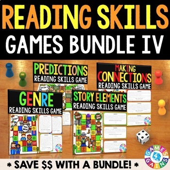 Reading Games for Reading Centers (Genre, Story Elements,