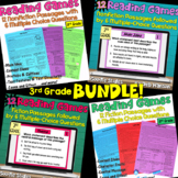 Reading Games Bundle: Perfect for Test Prep! {3rd Grade}