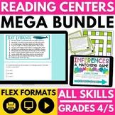 Reading Games: Fiction and Nonfiction Bundle | Reading Centers
