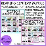 Reading Games: Fiction and Nonfiction Bundle for 4th/5th G