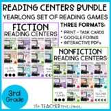 Reading Games Fiction and Nonfiction Bundle Print and Digi