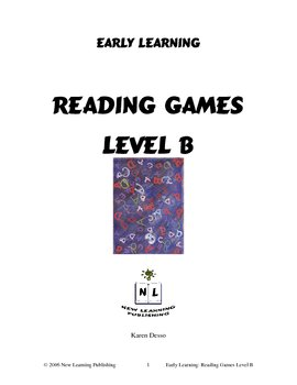Reading Games: Level B