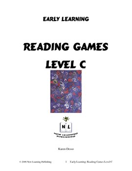 Reading Games: Level C