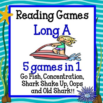 Reading Games -Long A words Advanced