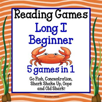 Reading Games - Long I Words Beginner