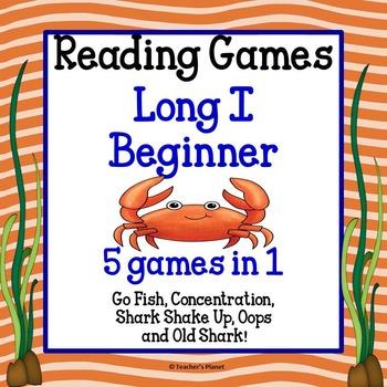 Reading Games - Long I Words Beginner