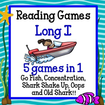 Reading Games - Long I words Advanced