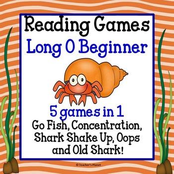 Reading Games - Long O Words Beginner