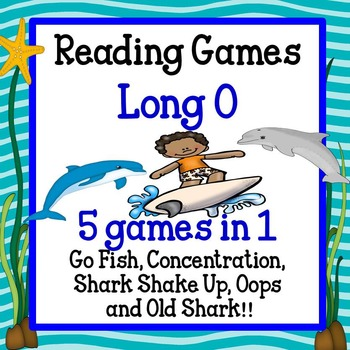 Reading Games - Long O words Advanced