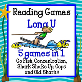 Reading Games - Long U words Advanced