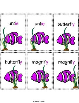 Reading Games - Long Vowel Bundle Advanced!