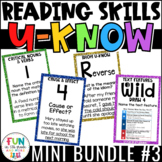 Reading Games Mini U-Know Bundle 3 | Reading Test Prep Rev
