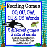 Reading Games - OO, OU, OW, OI, OY Words