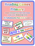 Reading Games Primary: Orton Gillingham and Phonics Based
